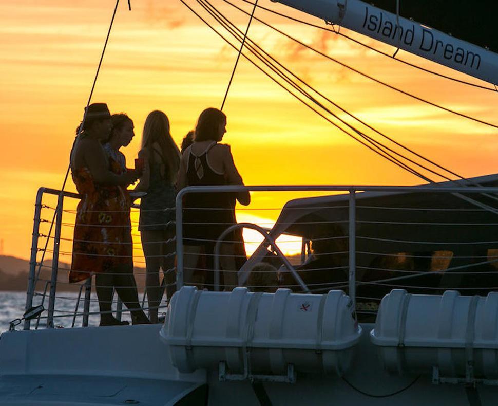 St. John Champagne Sunset Sail