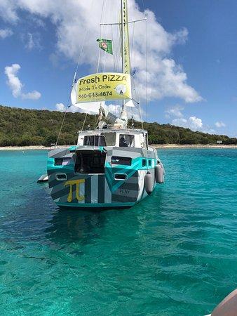 St. Thomas PiZZA Pi Snorkel Sail